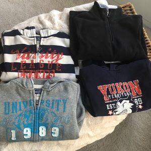 LOT OF 4! Children's Place hoodies & sweatshirts